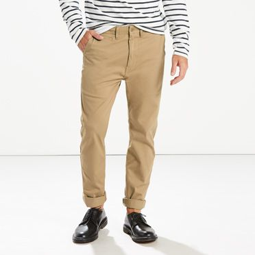 Levis Mens 502 Regular Taper Fit Chino Trousers