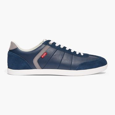 Levis Mens Loch Suede Sneakers