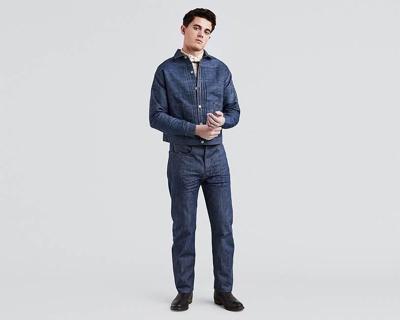 Men's Vintage Style Pants, Trousers, Jeans, Overalls 1890 XX501® Jeans $275.00 AT vintagedancer.com