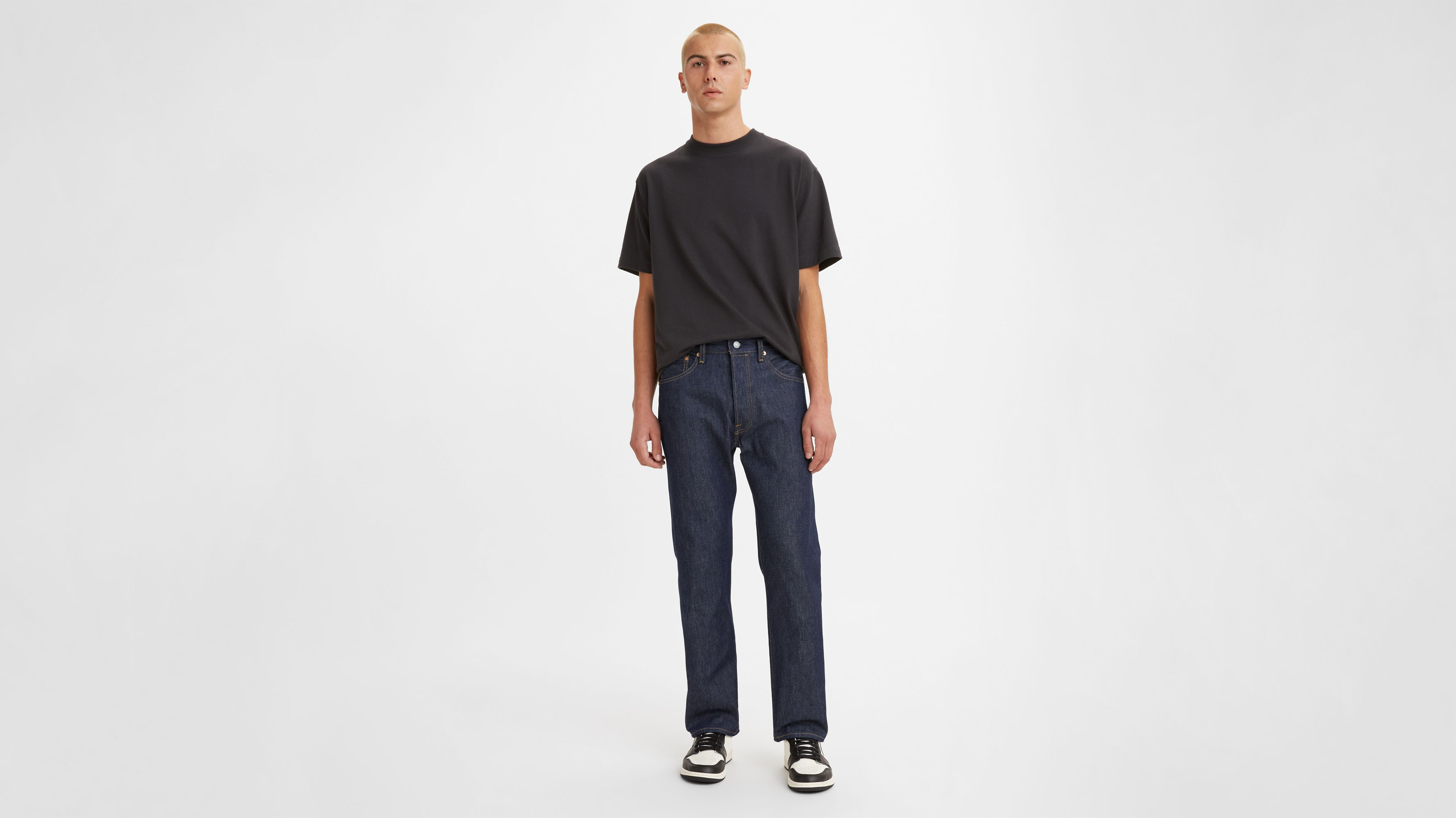 Men-Jeans-501® Original Shrink-to-Fit™ Jeans-Rigid