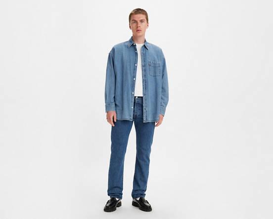 1e82877f829 501® Levi's® Original Fit Jeans - Lavado Medio | Levi's® ES