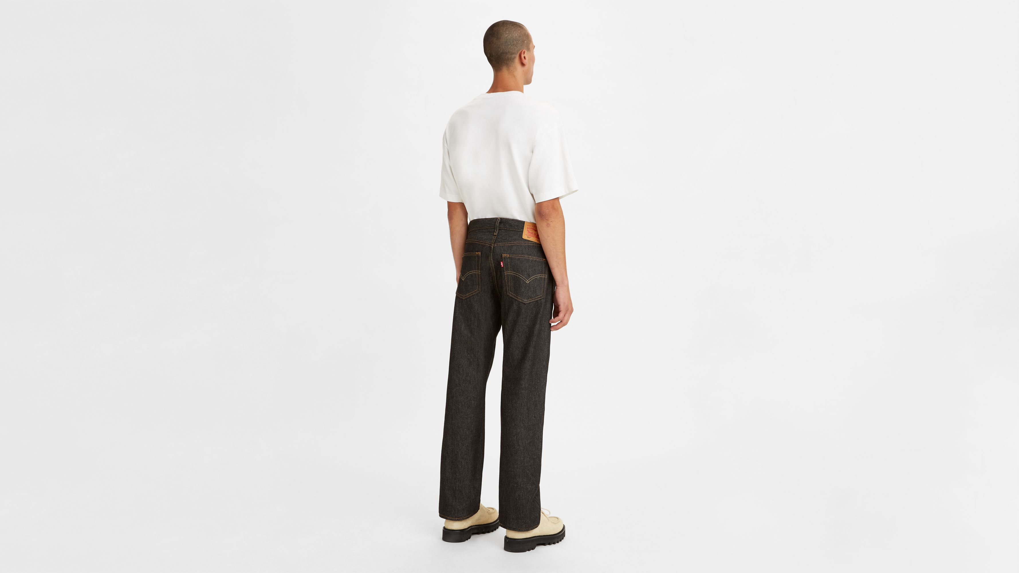 51472792d04 501® Original Shrink-to-fit™ Men's Jeans - Black | Levi's® US