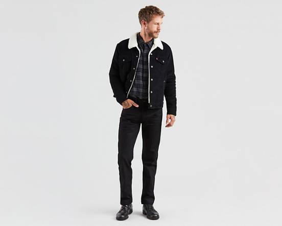 a65d981bb48 501® Original Fit Men's Jeans - Black   Levi's® US