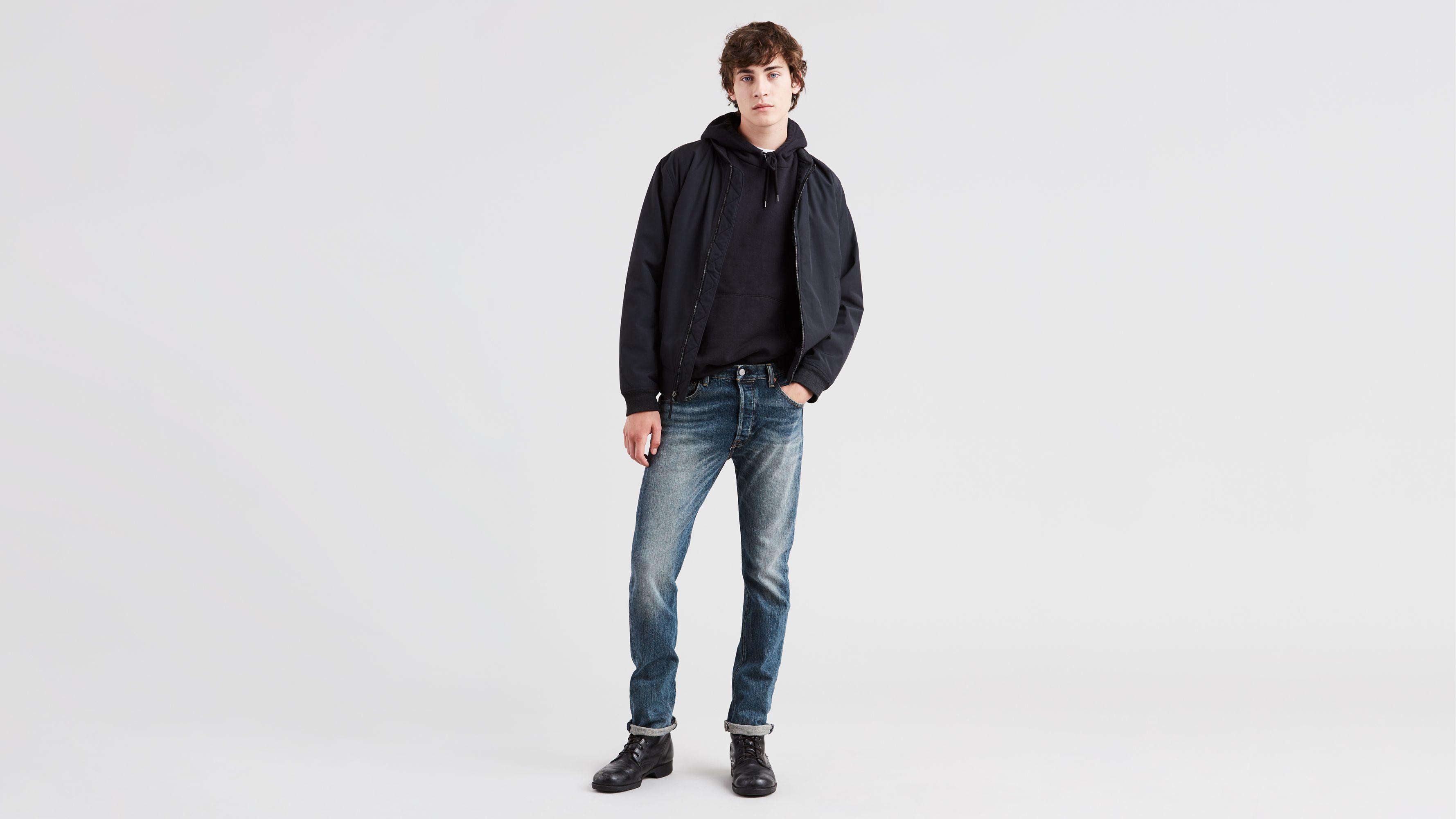 1a23c8f0fdc 501® Original Fit Stretch Men's Jeans - Medium Wash | Levi's® US