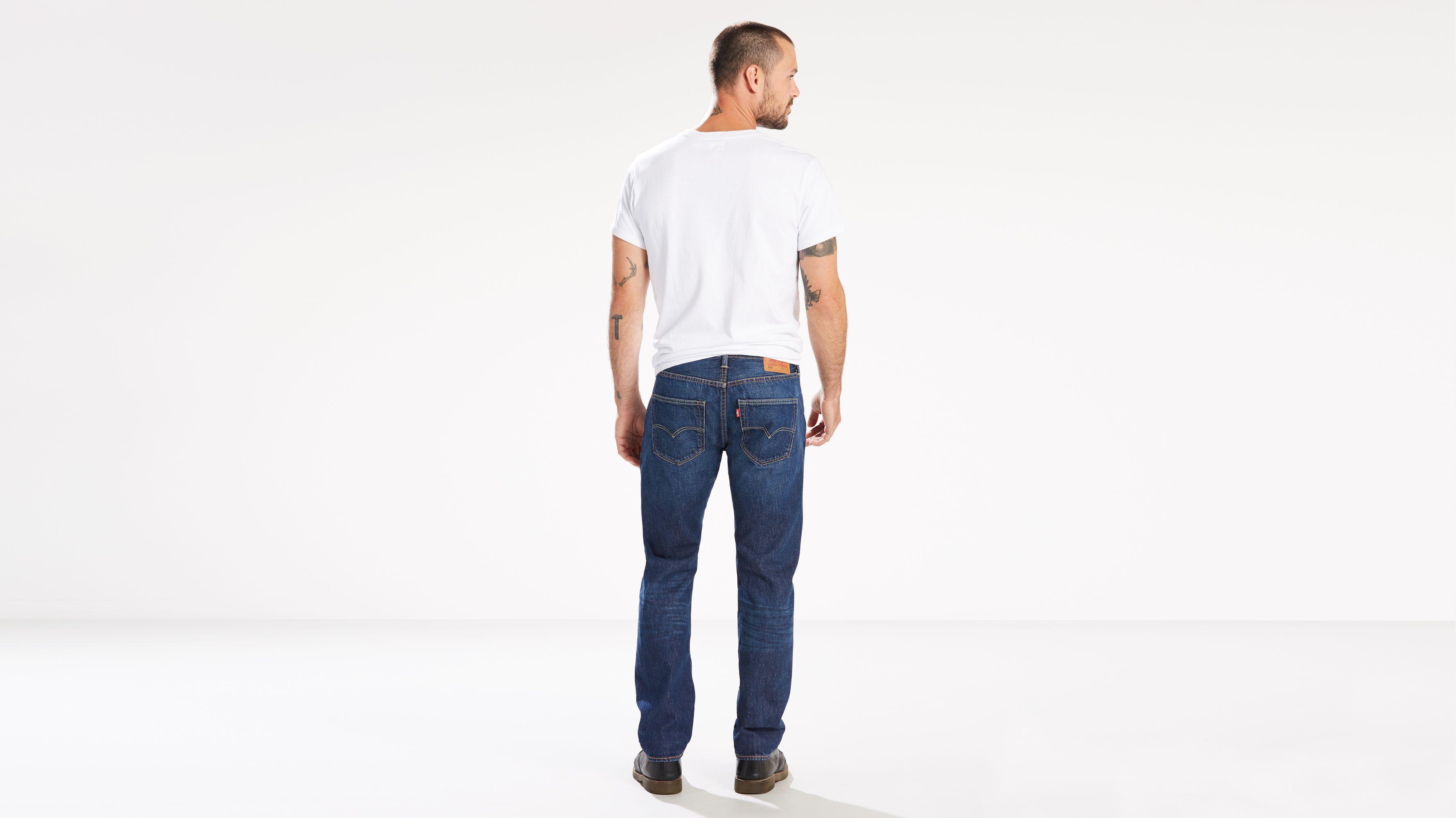 d5669418610 Levi's® Made In The Usa 501® Original Fit Selvedge Men's Jeans - Medium  Wash | Levi's® US