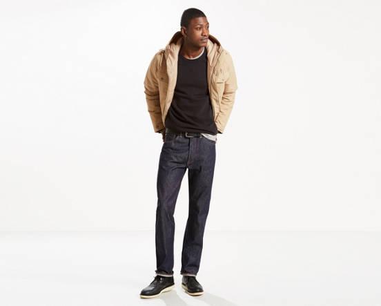 d66f8d79b59 501® Original Shrink-to-fit™ Selvedge Jeans - Dark Wash