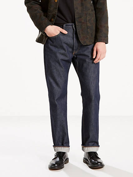 Levi's® Made in the USA 501® Original Fit Selvedge Jeans