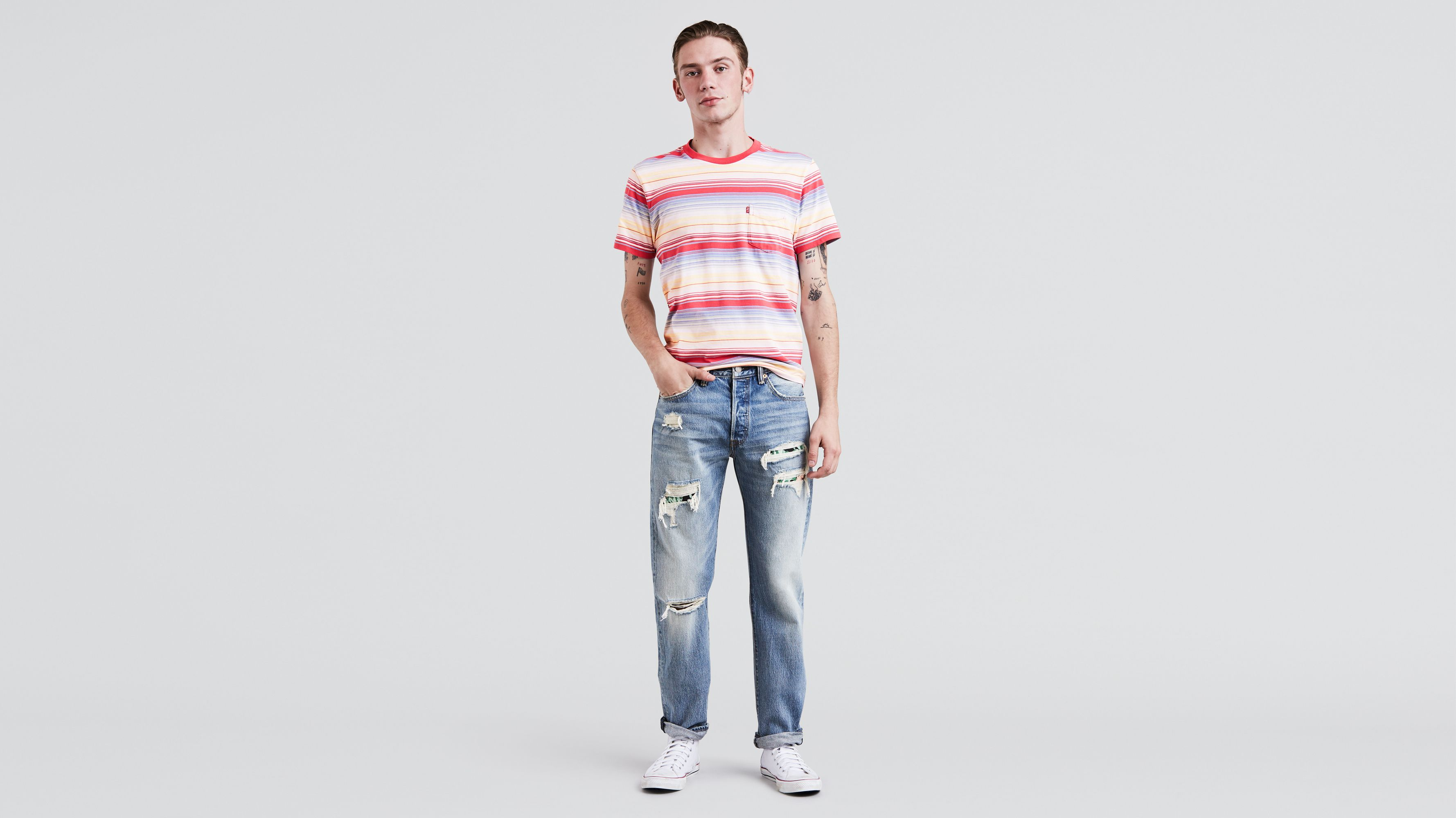 501 West Coast - jean skinny - BleuLevi's tP2AVPQLj