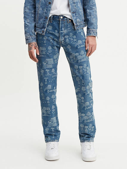 Levi's® x Peanuts 501® Original Fit Stretch Jeans