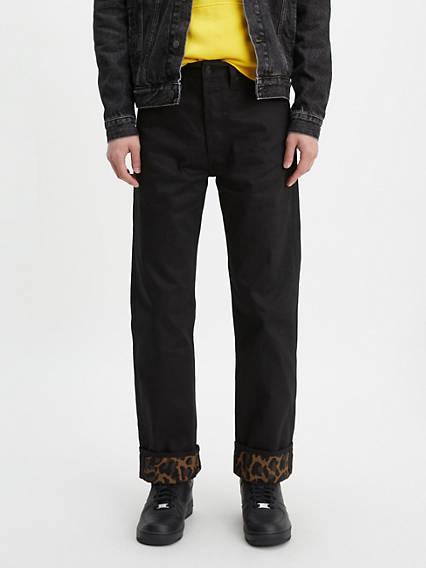 501® Original Fit Leopard Print Men's Jeans