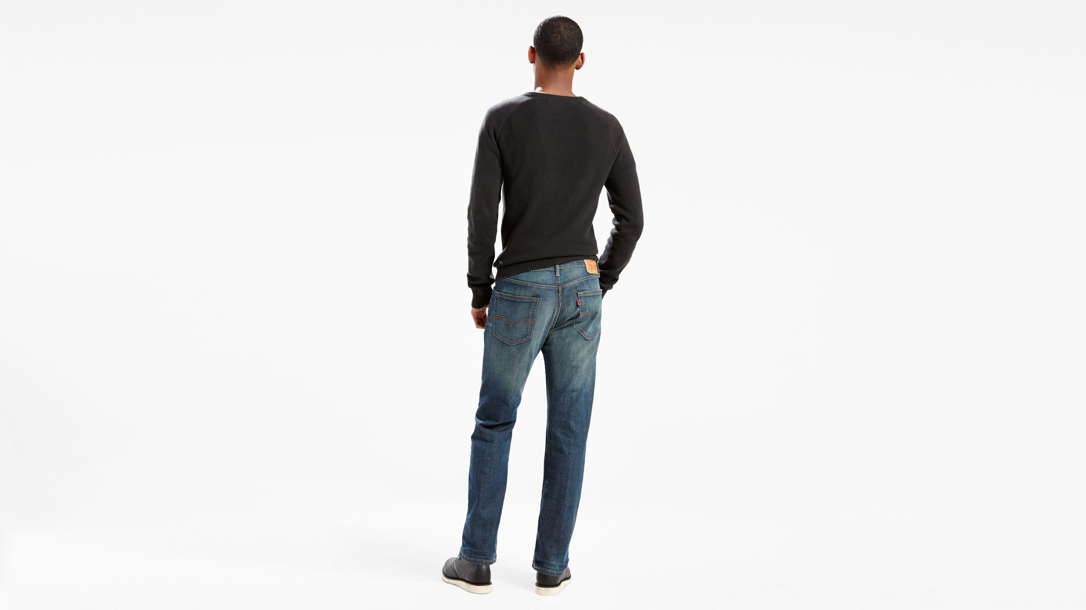 Herren Jeans, Regular Fit, graphit