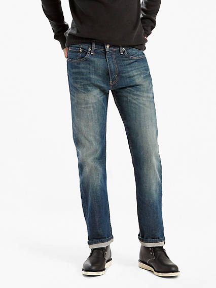 505 Regular Fit Stretch Jeans
