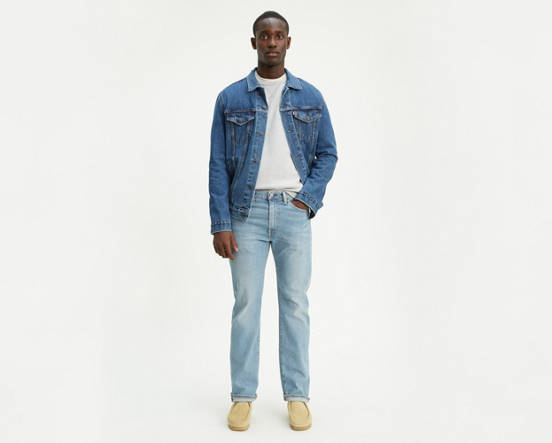 Levi's® Made in the USA 505® Original Fit Stretch Men's Jeans