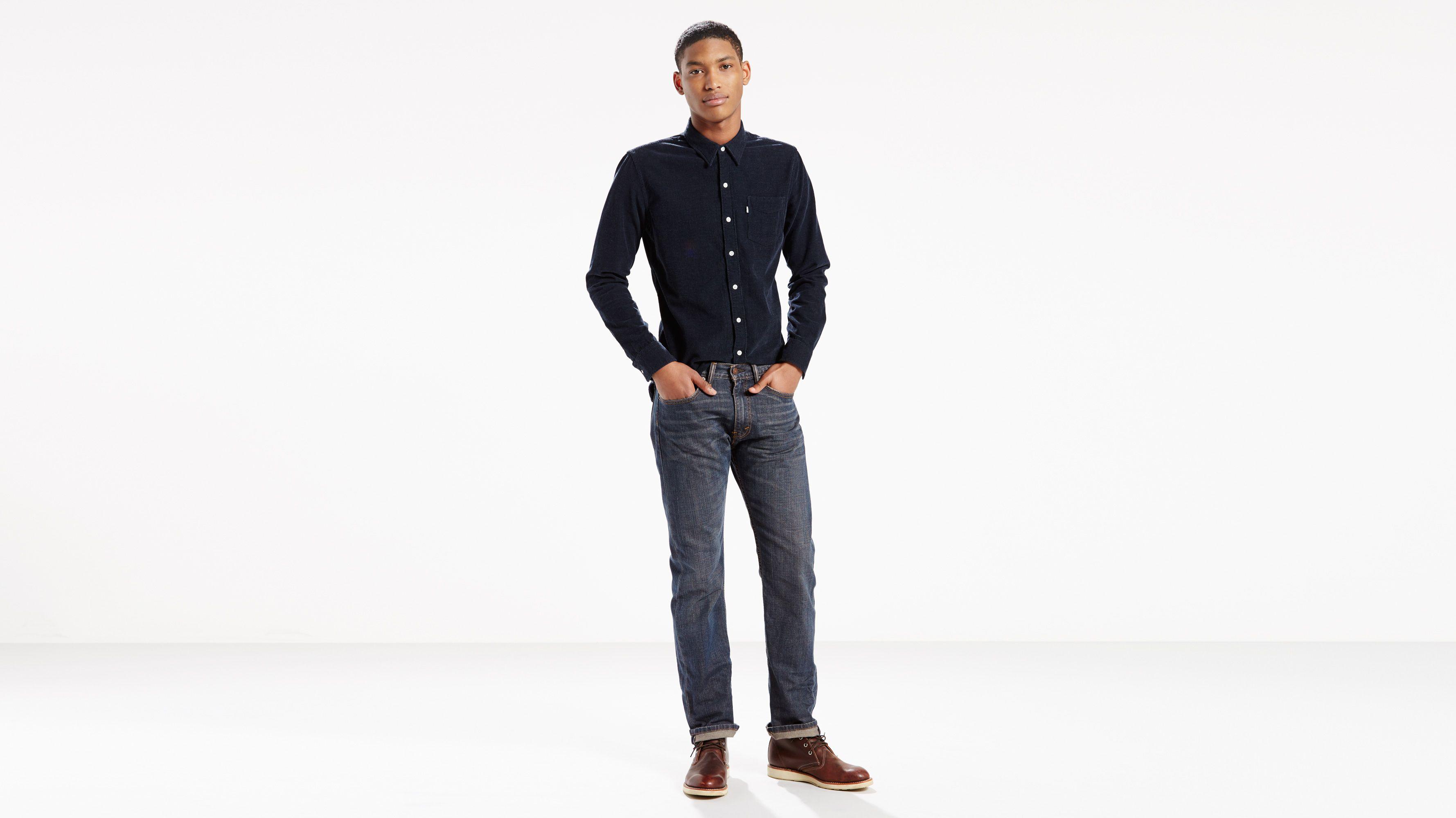 505™ Regular Fit Men's Jeans Black   Levi's® US
