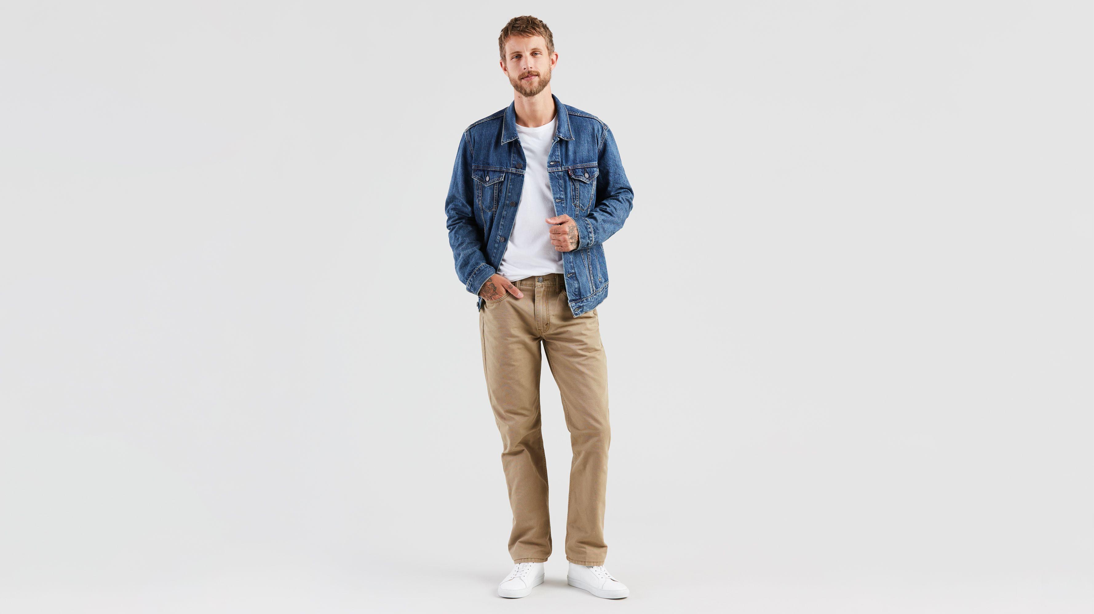 6c5f1b54624 514™ Straight Fit Trousers - Khaki   Levi's® US