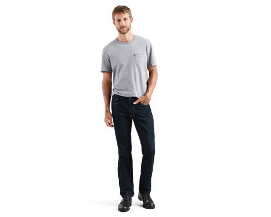 34192539f4d 514™ Straight Fit Men's Jeans - Dark Wash | Levi's® US