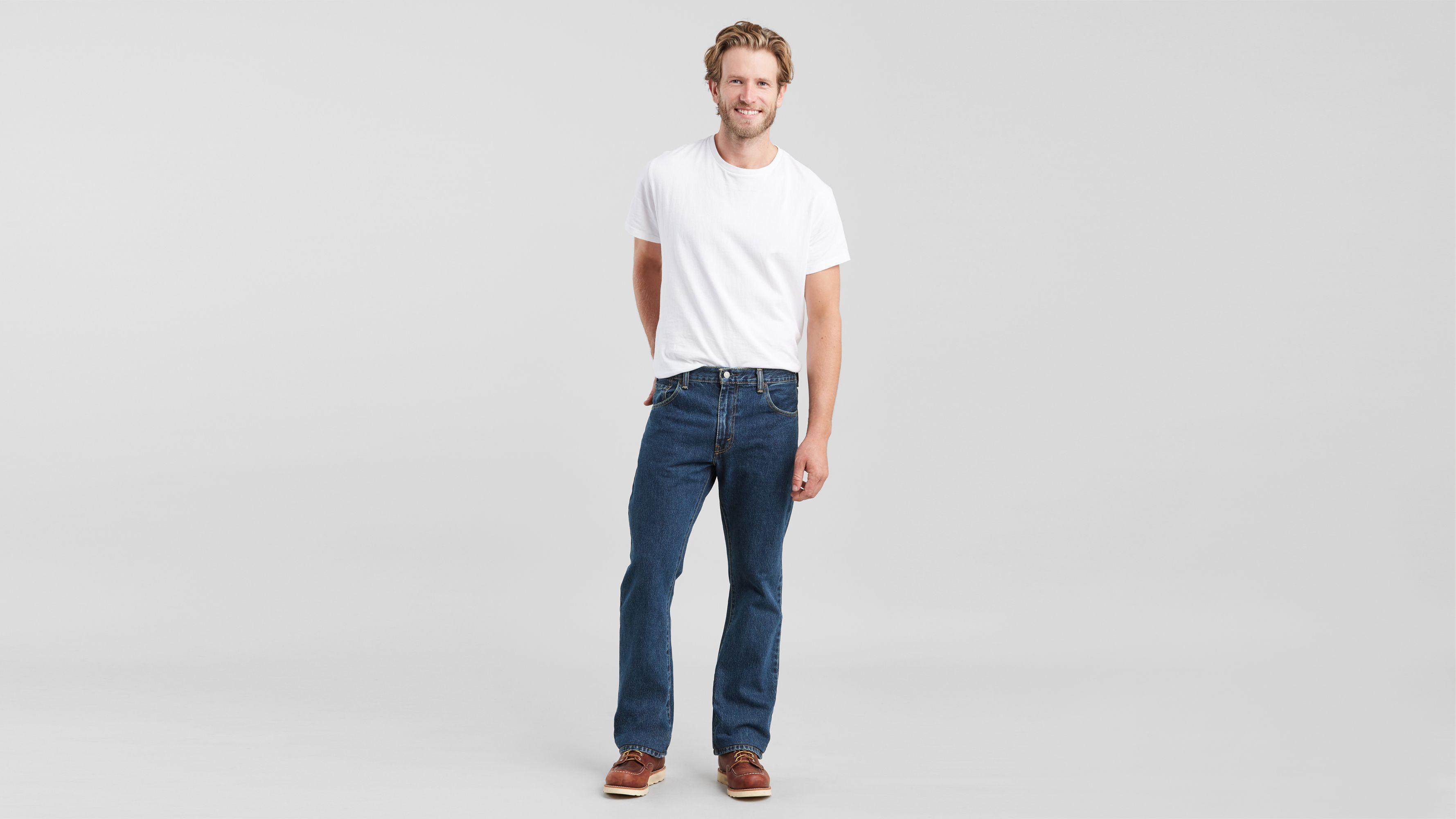 men's bootcut jeans levi's