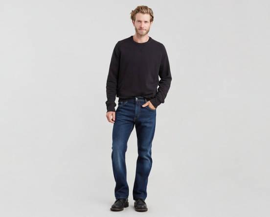 f3724b2170b 517™ Boot Cut Stretch Men's Jeans - Dark Wash | Levi's® US