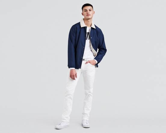 c36c5191947 511™ Slim Fit Men's Jeans - White | Levi's® US