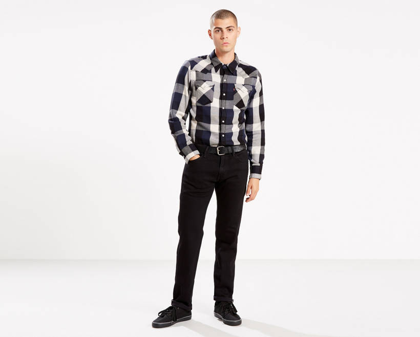 Wonderful 511™ Slim Fit Selvedge Jeans - Black | Levi US Site DR46
