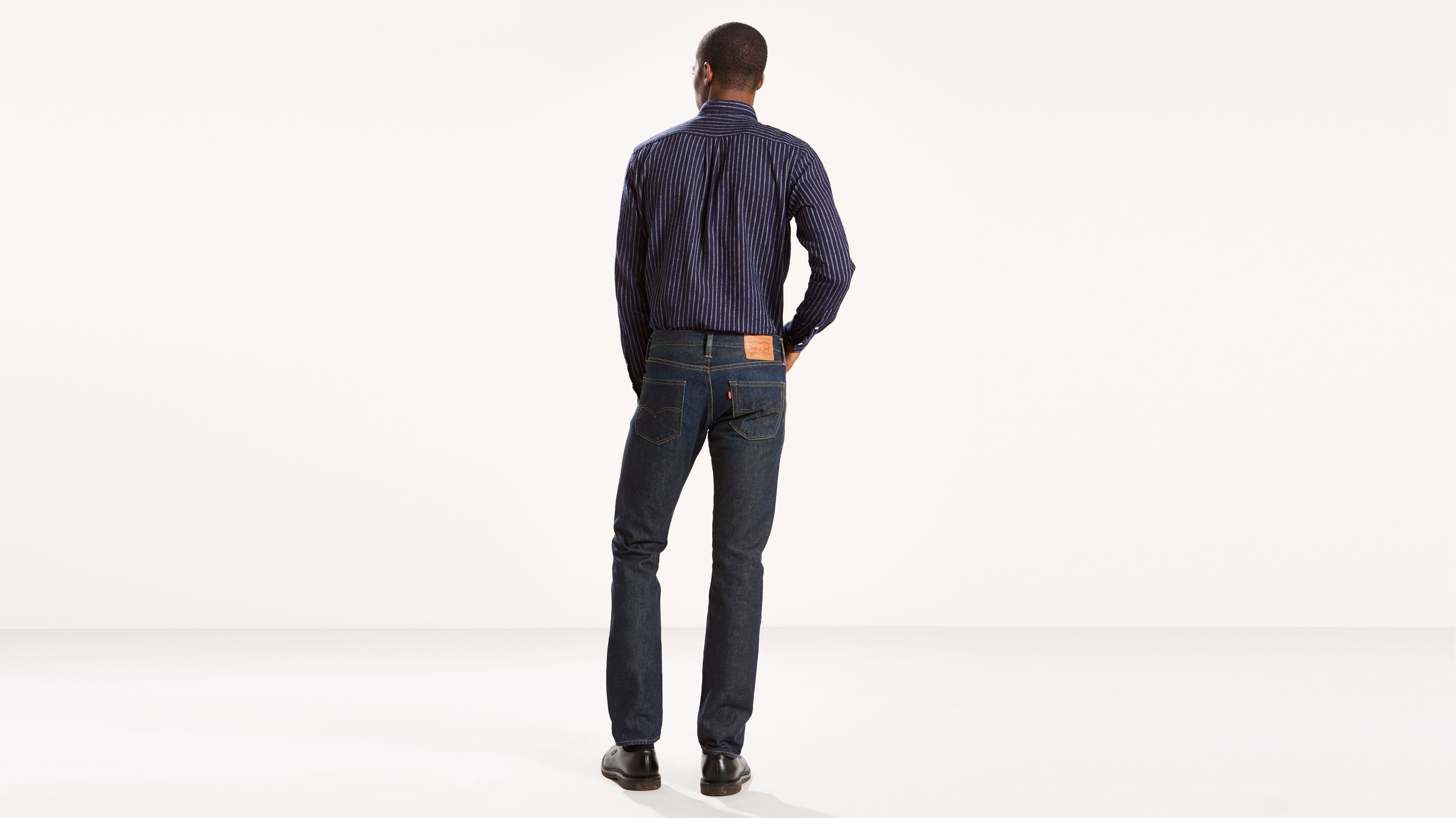 Men/'s Levi/'s Made In The USA 511 Slim Fit Jeans Rinse
