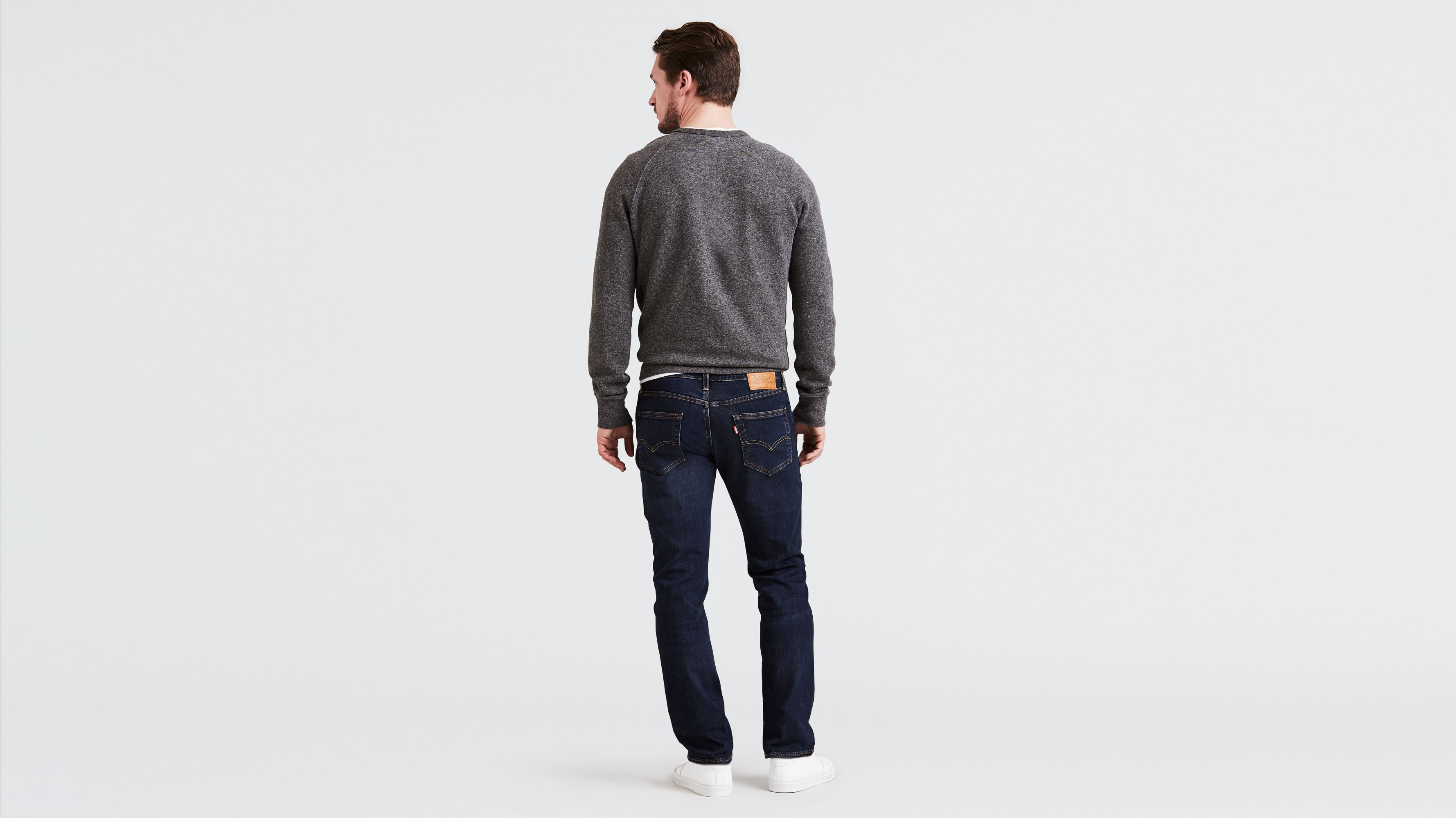 880a5821ebf 511™ Slim Fit Jeans - All Seasons Tech - Dark Blue | Levi's® GB