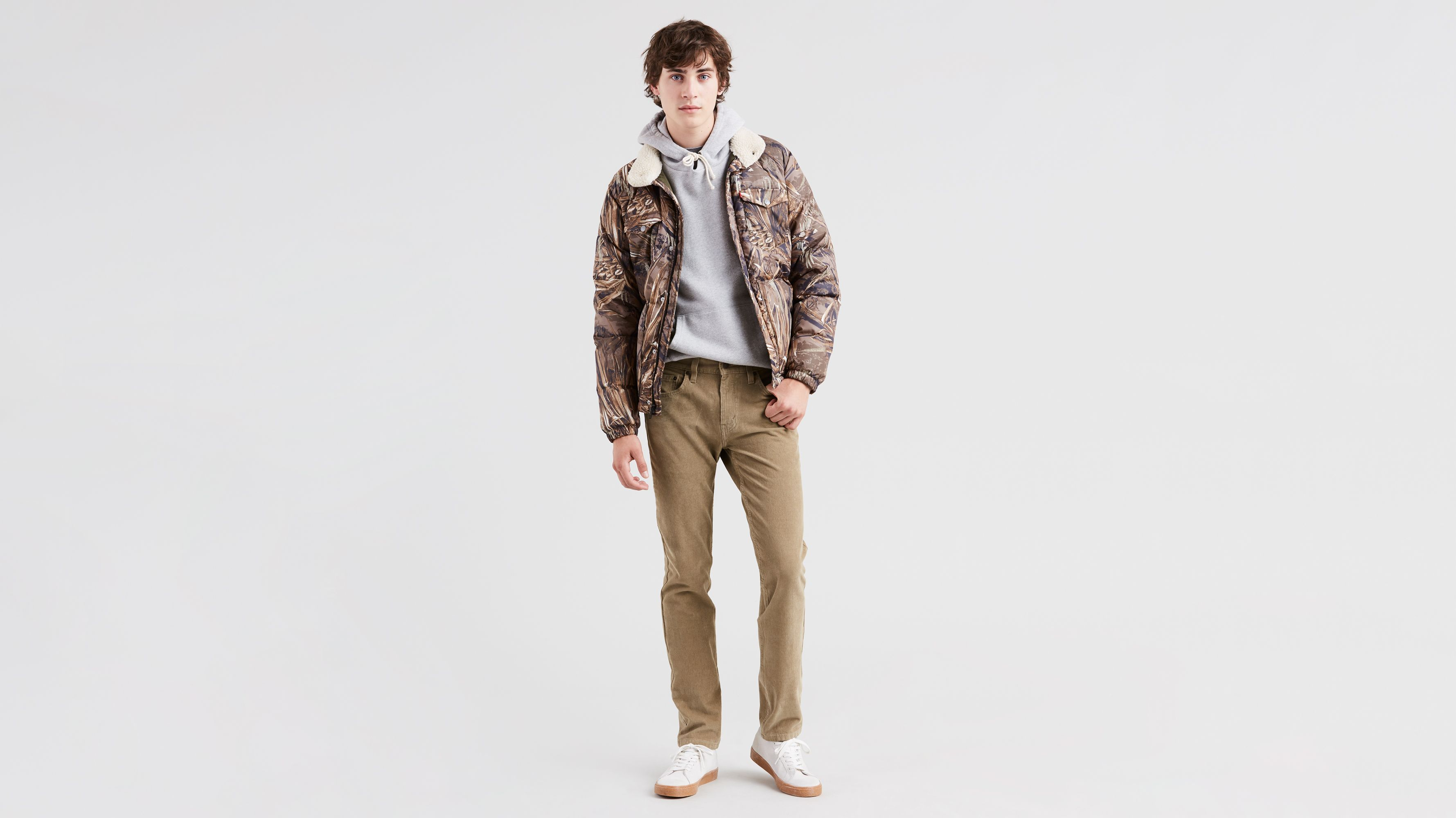 0216a67b7b4 511™ Slim Fit Corduroy Pants - Khaki   Levi's® US