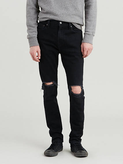 849dac71955c Distressed. 510™ Skinny Fit Advanced Stretch Men's Jeans. QUICK VIEW. Black  Shredded