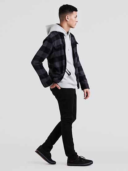 510 Skinny Fit Men S Jeans Black Levi S Us