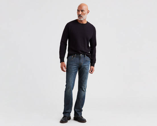 93c29de96c0 Use + and - keys to zoom in and out, arrow keys move the zoomed portion of  the image. Mouse over image for a closer look. 527™ Slim Boot Cut Men's  Jeans ...
