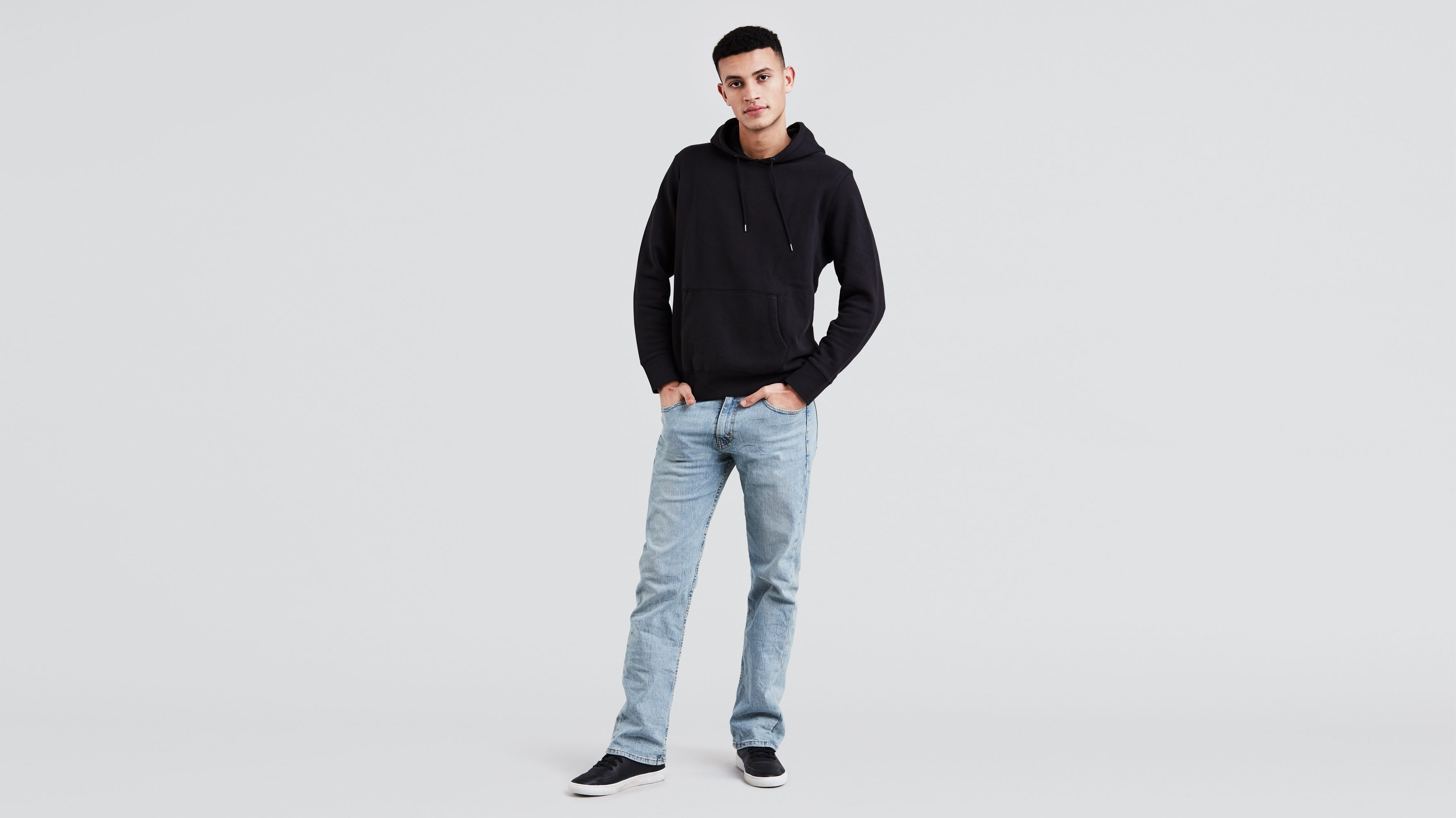 a578e637f1 527™ Slim Boot Cut Jeans - Light Wash