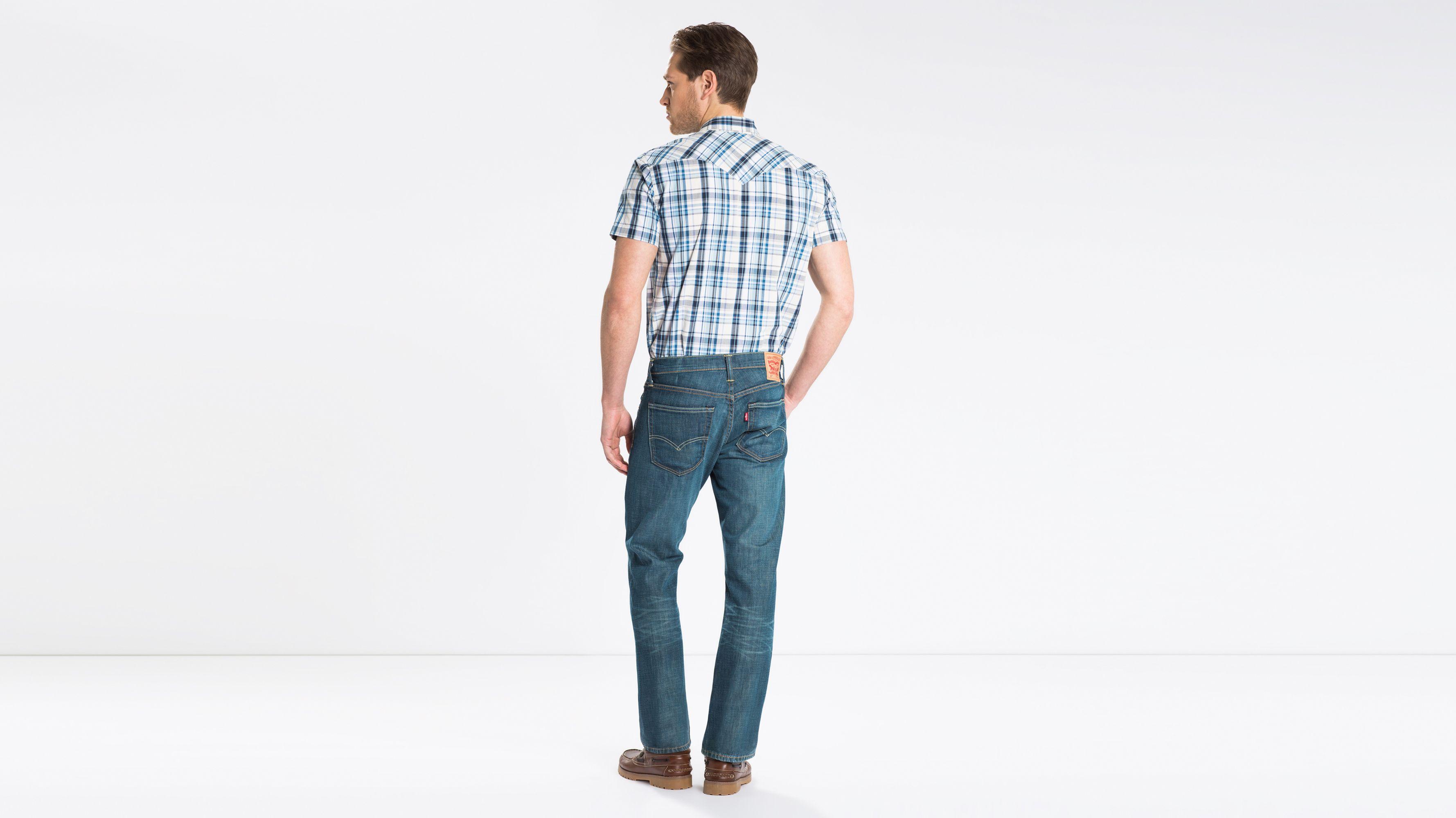 baab87fa 527™ Slim Bootcut Jeans - Grøn | Levi's® DK