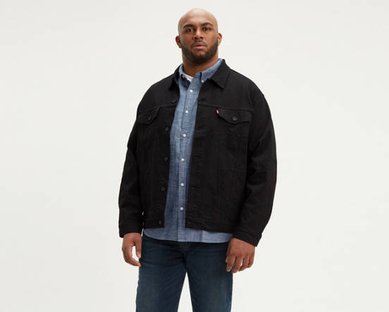 dd5d4b8b4ae Mouse over image for a closer look. Trucker Jacket (Big   Tall) ...