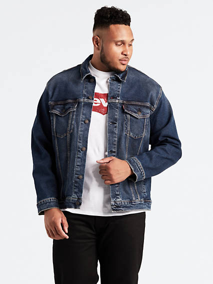 Trucker Big & Tall Jacket