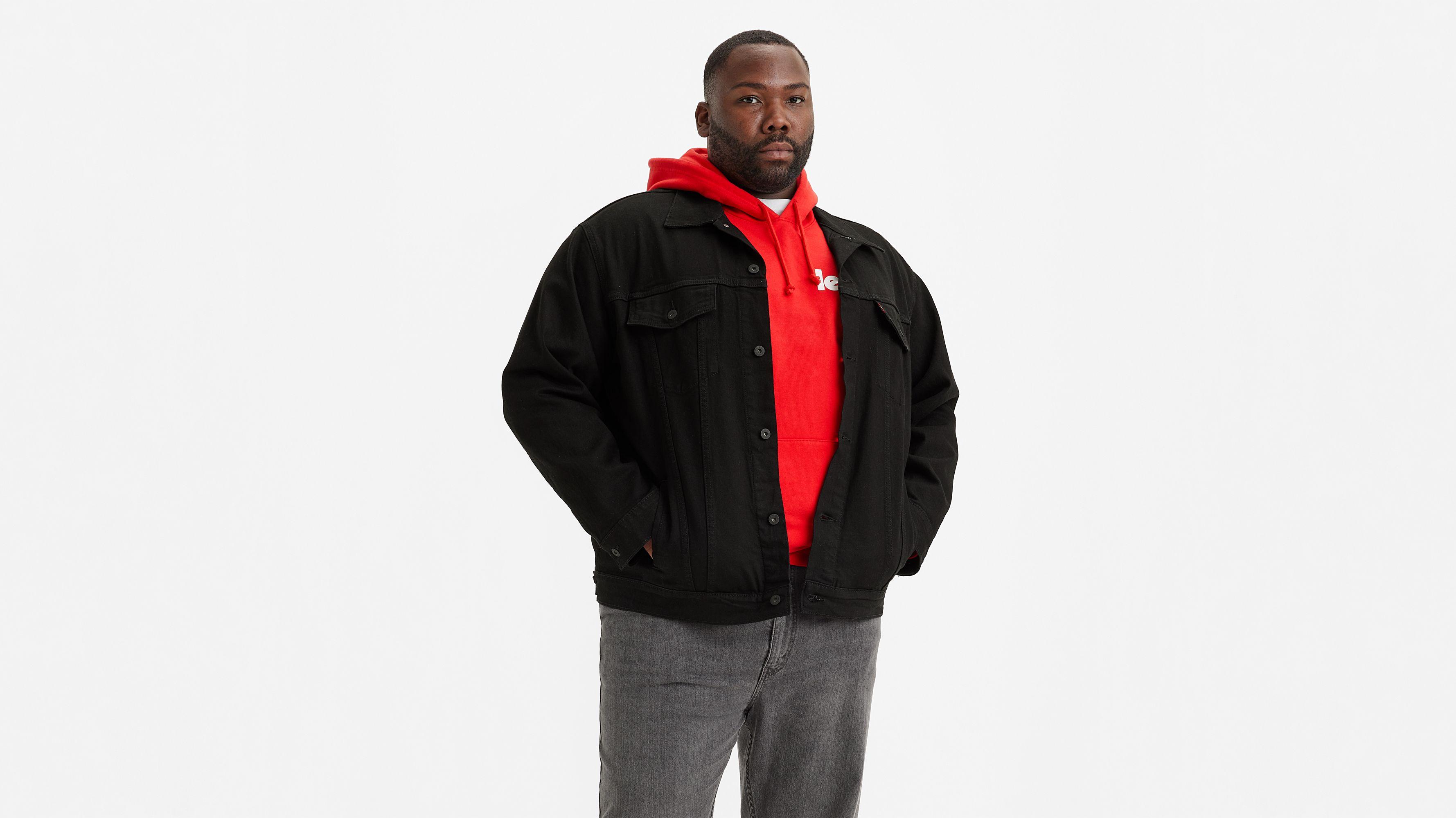 levi's big trucker veste en jean homme