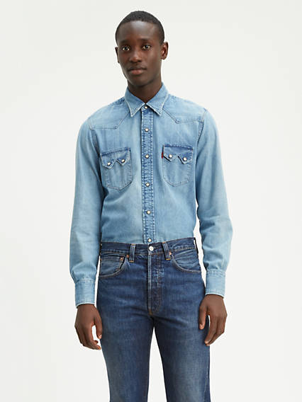 Levi's® Vintage Clothing 1955 Sawtooth Denim Shirt