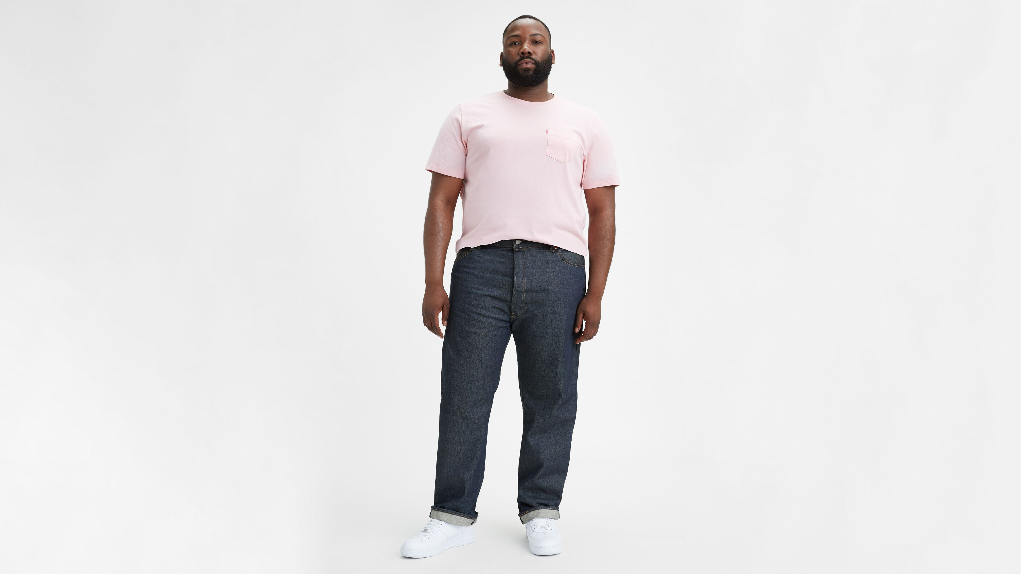 501® Shrink to Fit™ Men's Jeans (Big & Tall)