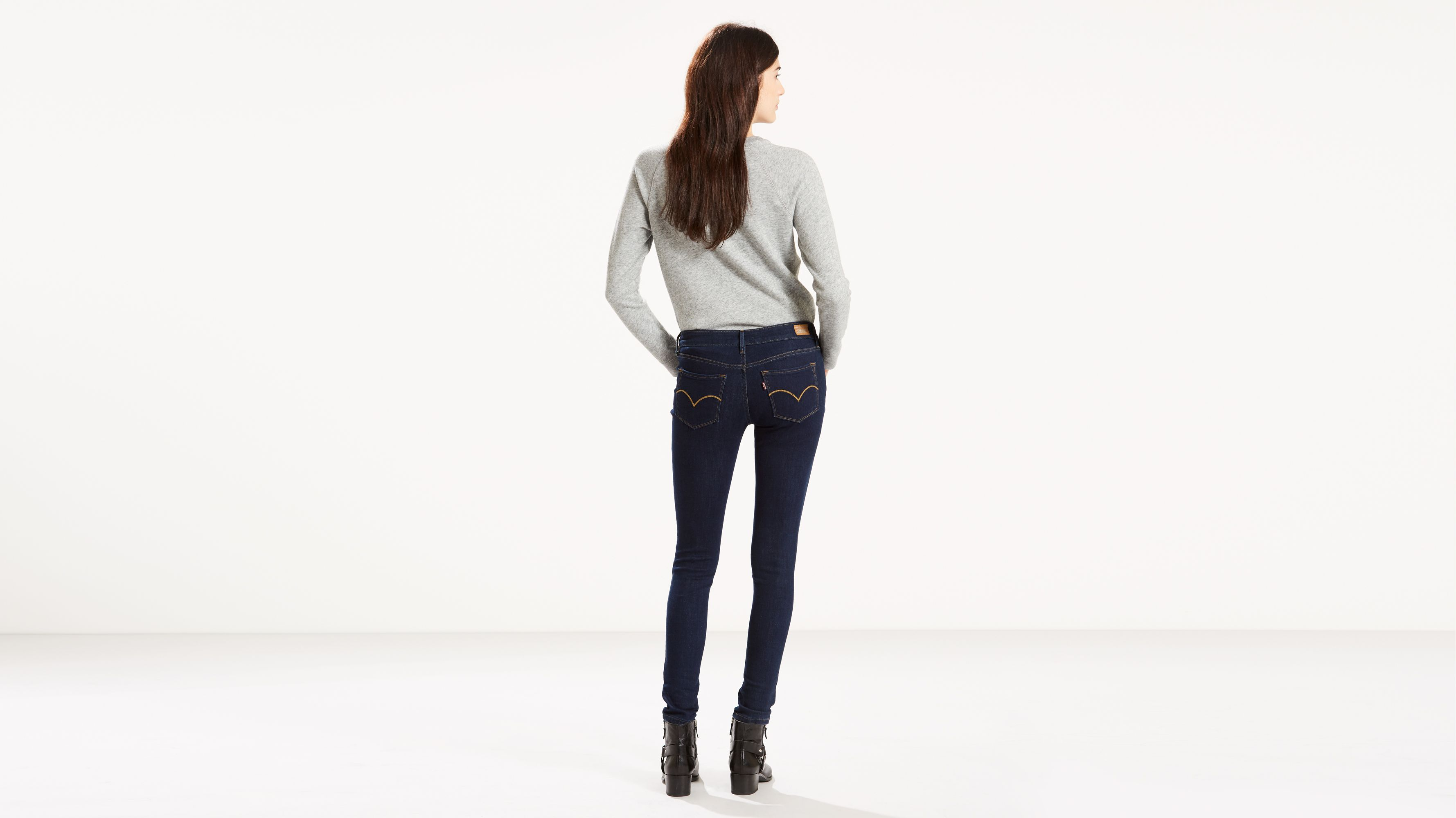 1c0100d4 535™ Super Skinny Jeans - Dark Wash | Levi's® US