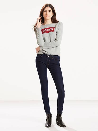 b9d6c4732a6 535™ Super Skinny Jeans - Dark Wash | Levi's® US