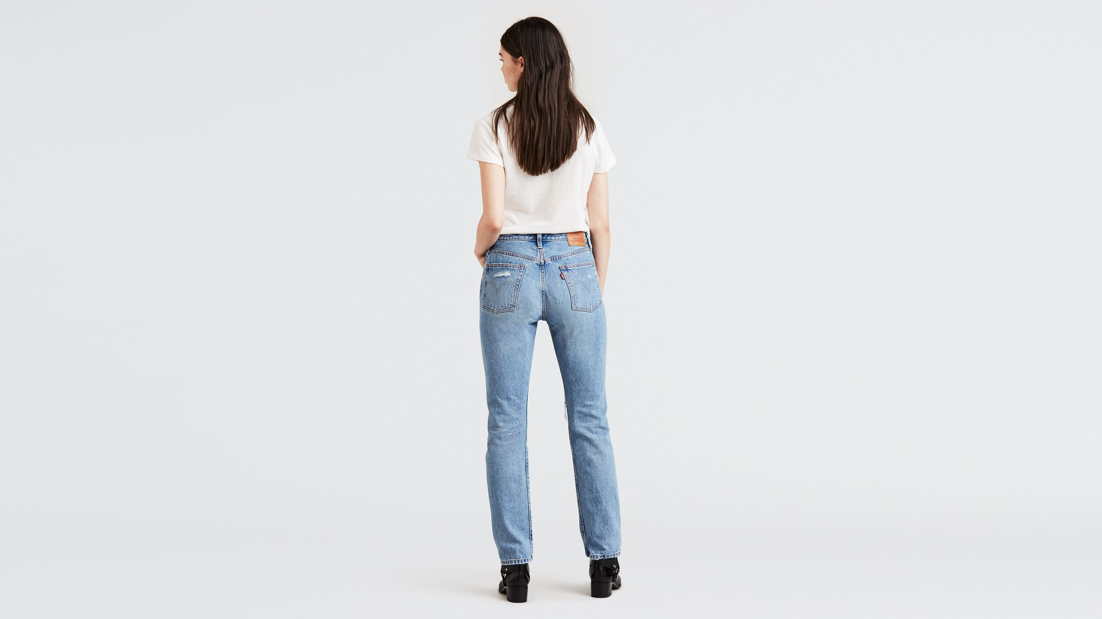 Levis 501 Search And Destroy Shop Clothing Shoes Online With no added stretch, the 501® original sits at the waist and is regular through the thigh with a straight leg. www jiwaji edu