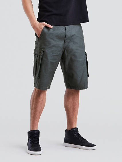 Snap Cargo Shorts