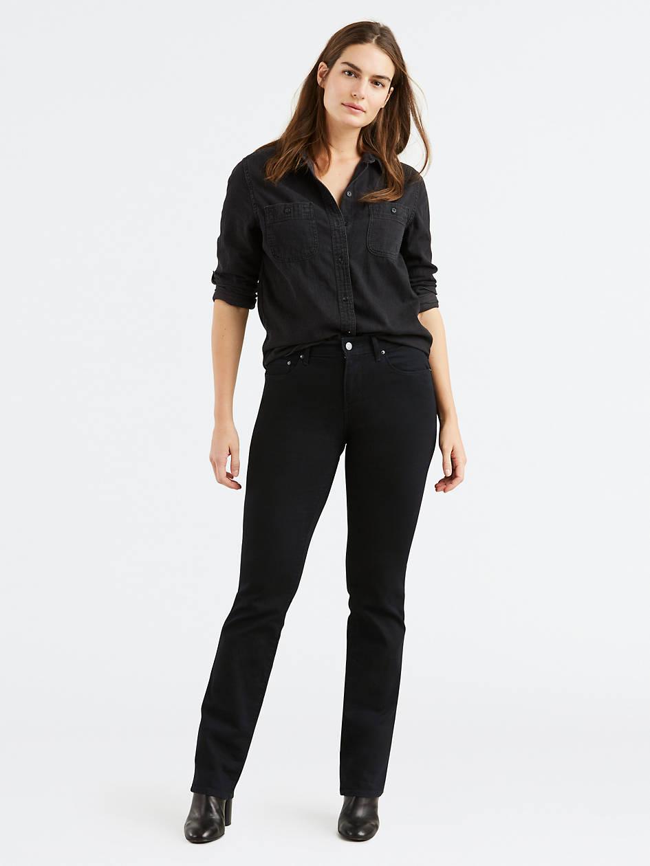 505™ Straight Leg Women's Jeans - Black | Levi's® US