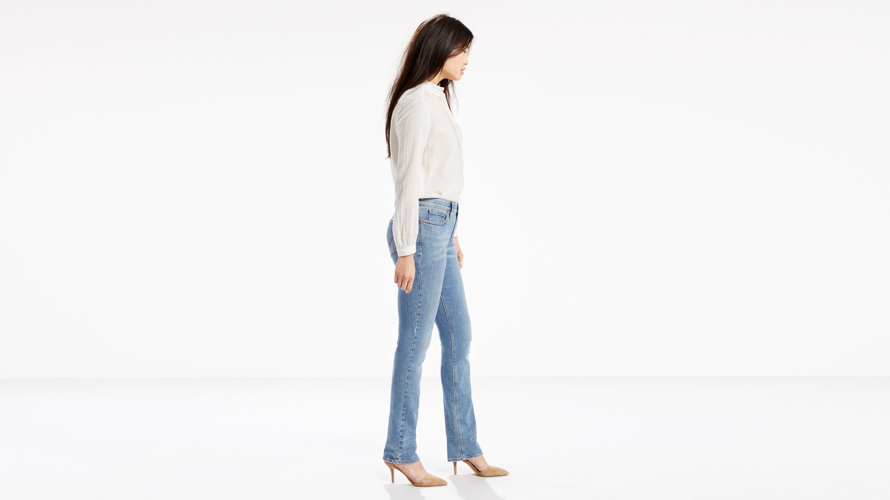 d43c38bf 525™ Perfect Waist Straight Jeans - Light Wash | Levi's® US