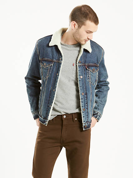 Denim Jackets Shop Men S Jean Jackets Outerwear Levi S Us