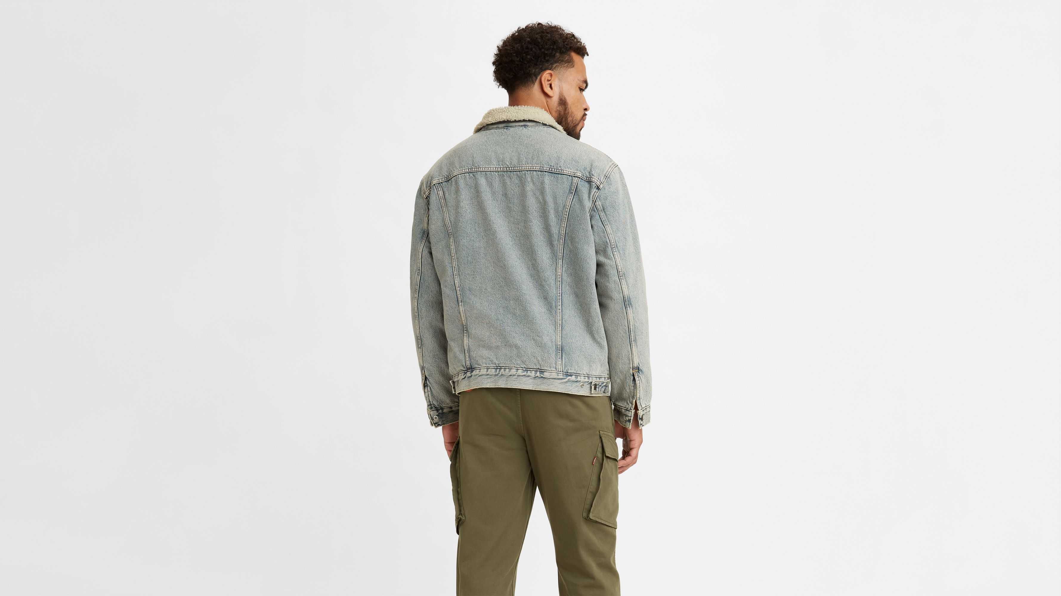 Type 3 Sherpa Trucker Type Jacket 3 O0kwPN8nX