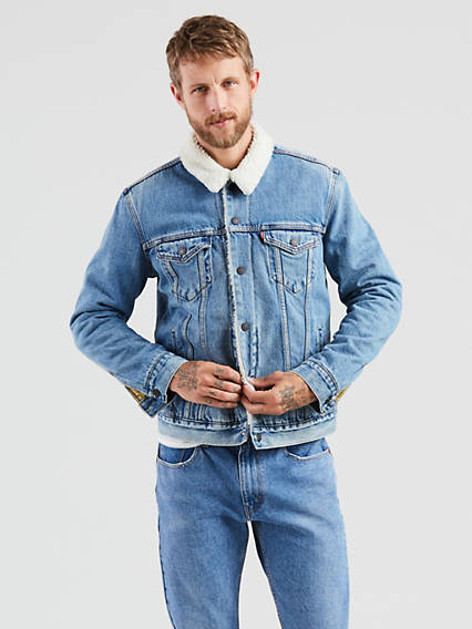 98666c77c726 Denim Jackets - Shop Men s Jean Jackets