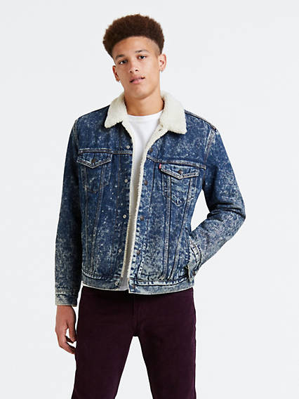Sherpa Trucker Jacket