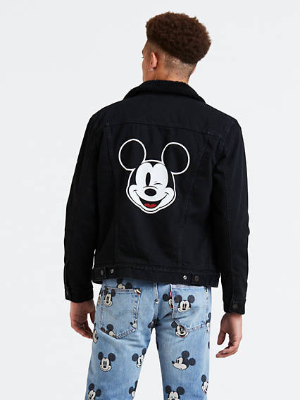 Levi's® X Mickey Mouse Type 3 Sherpa Trucker Jacket