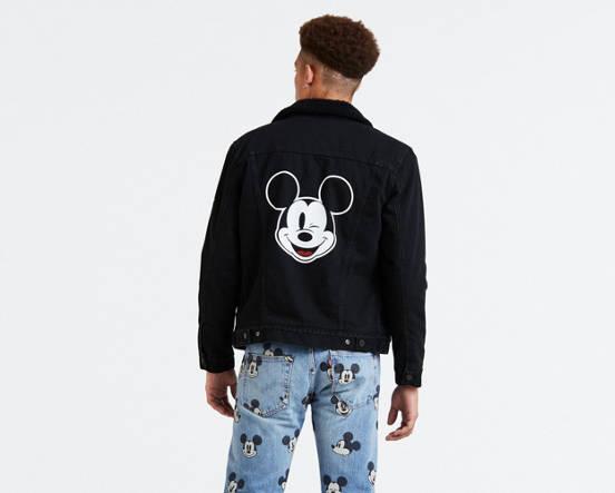 073bd58c3d Levi's® x Disney Mickey Mouse Sherpa Trucker Jacket