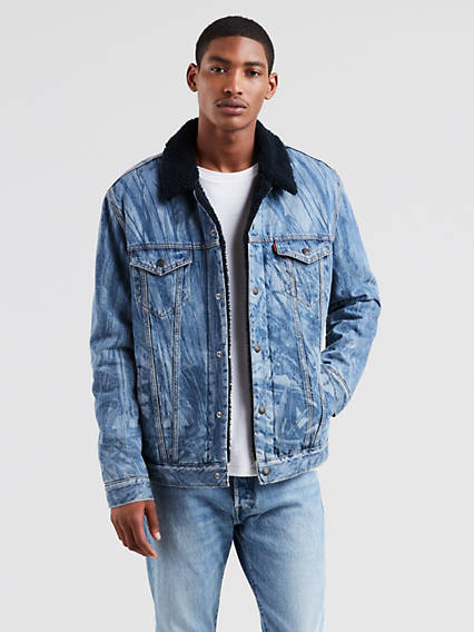 4ece09ec8a9 Men's Sherpa Jackets - Shop Sherpa Trucker Jackets | Levi's® US